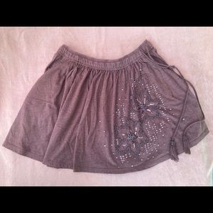 American Eagle Outfitters Embellished Skirt